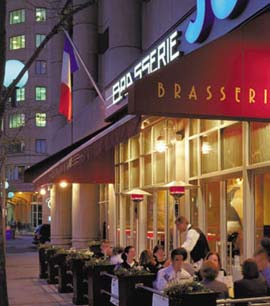 Dine at the Brasserie Joe at the Colonnade Hotel